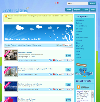 Php clone script leading software provider for pinterest groupon
