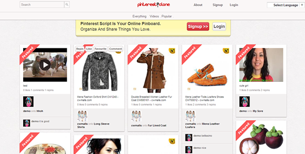 Your site or even create your own niche pinterest site for your own